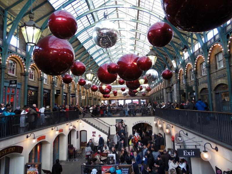 Aller voir les décorations de noël à Londres