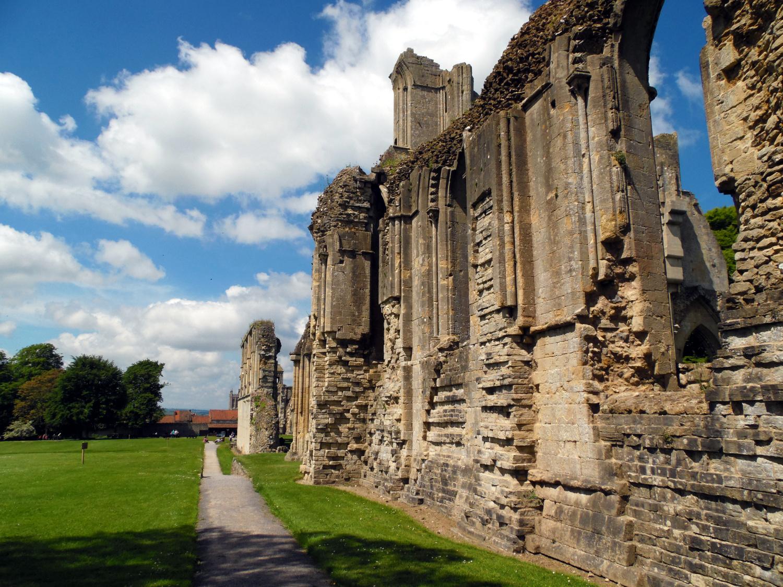 Glastonbury Abbey aka l'île d'Avalon