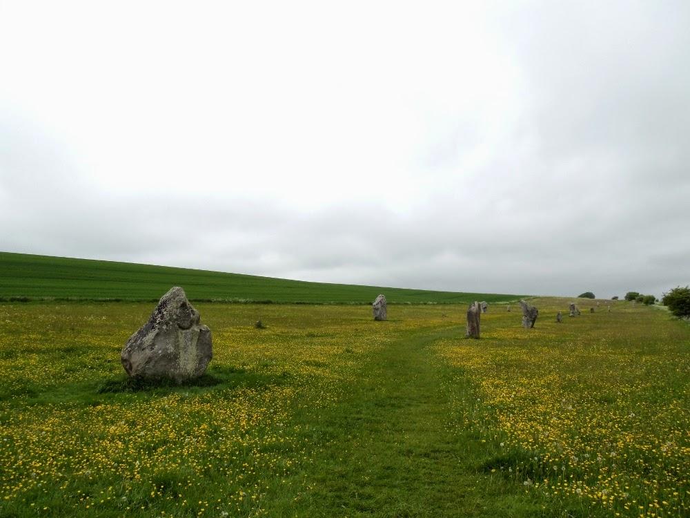 Les pierres levées d'Avebury