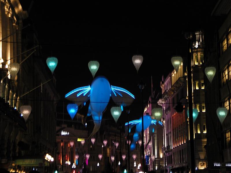 Luminéoles, Porté par le vent