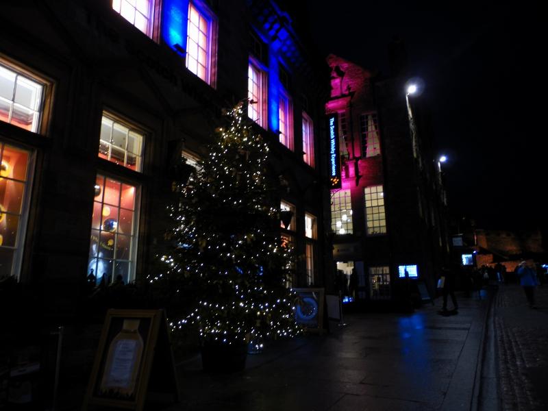 Noël à Édimbourg