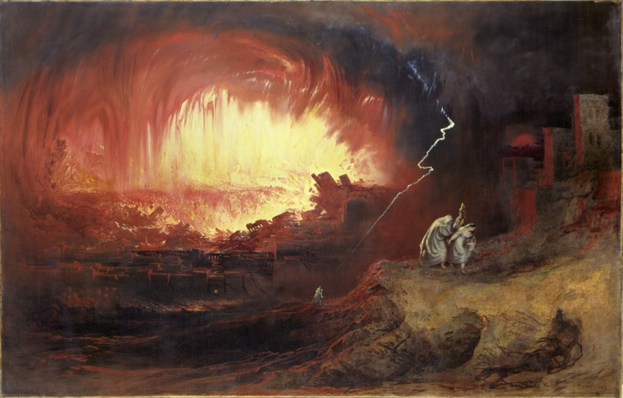 The Destruction of Sodom and Gomorrah, 1852, John Martin