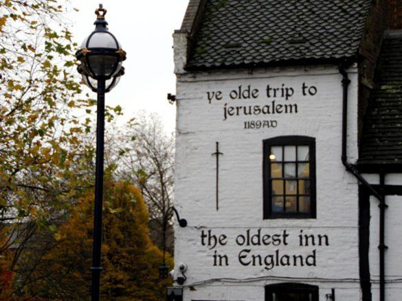 Aller au pub en Angleterre