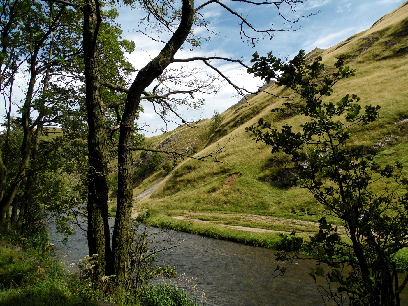 Le sud du Peak District National Park : Dovedale