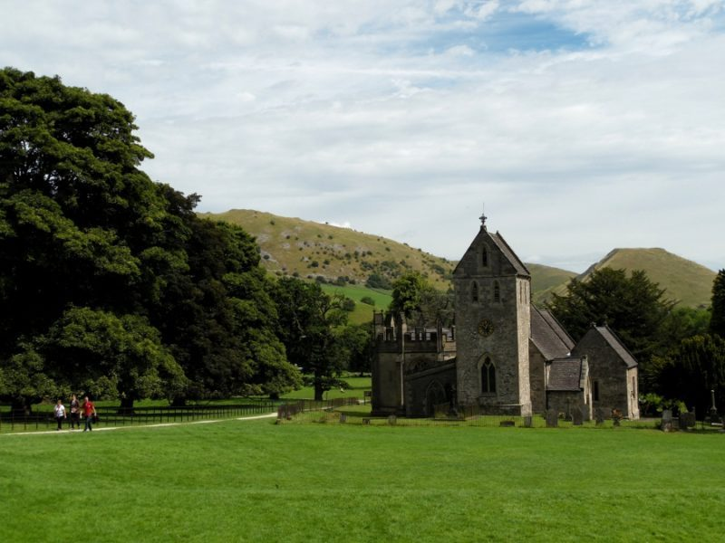 Au Sud du Peak District : Ilam Park