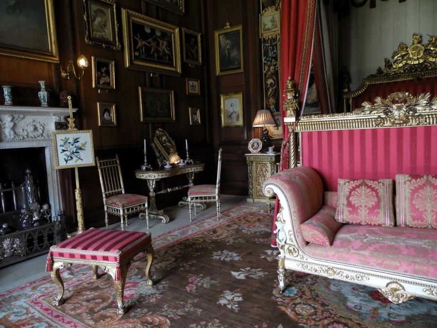 La Burghley House