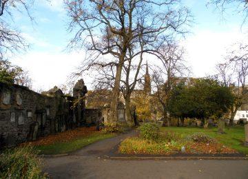 L'automne au Greyfriars Kirkyard