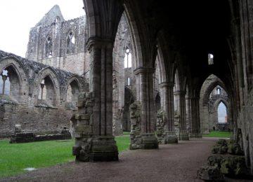 L'abbaye en ruine de Tintern