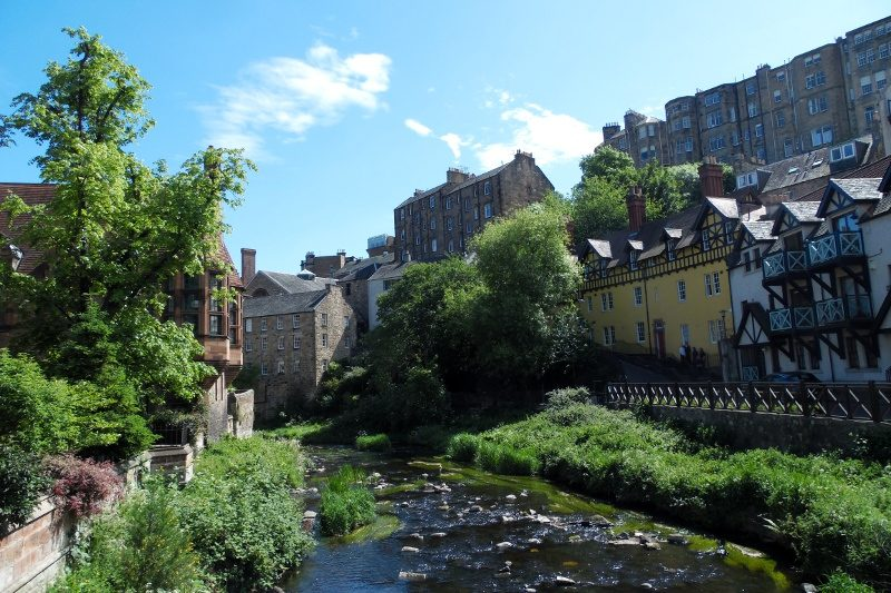 Se promener à Dean Village et le long de la Water of Leith Walkway