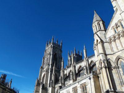 York vue du haut de York Minster