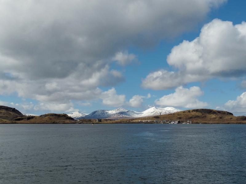 Paysages écossais urbains : Oban et Fort William