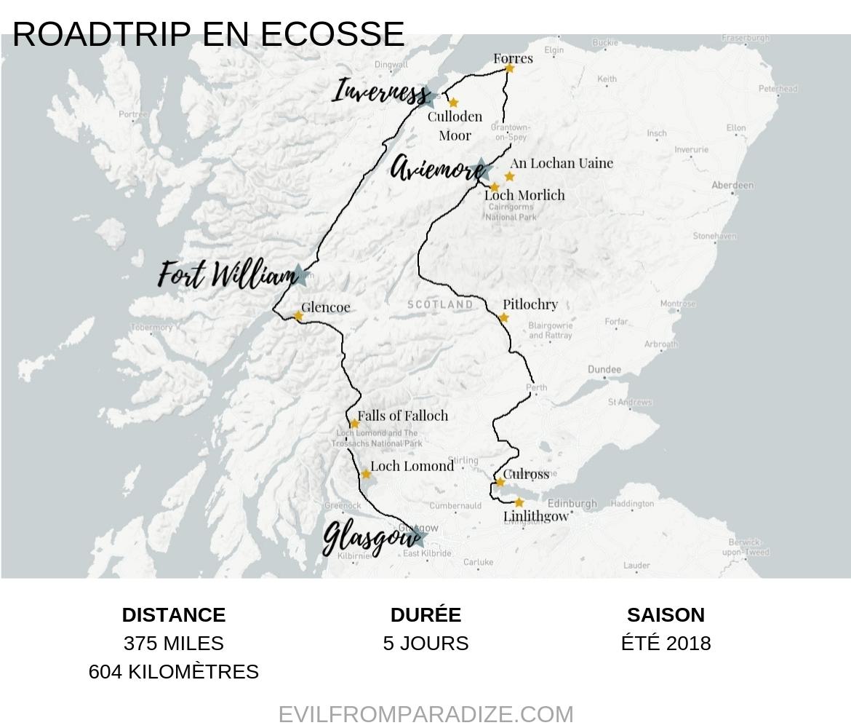 Roadtrip : 5 jours sur les routes en Ecosse