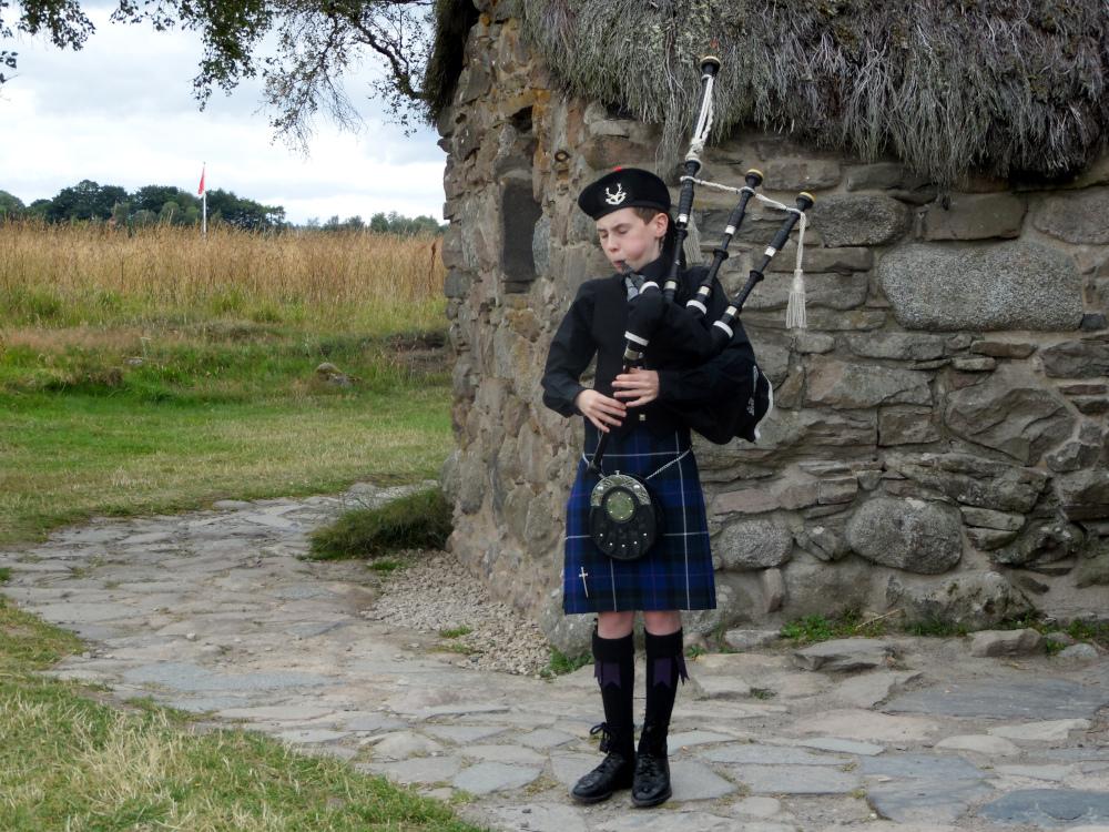 L'émouvante visite du champ de bataille de Culloden Moor