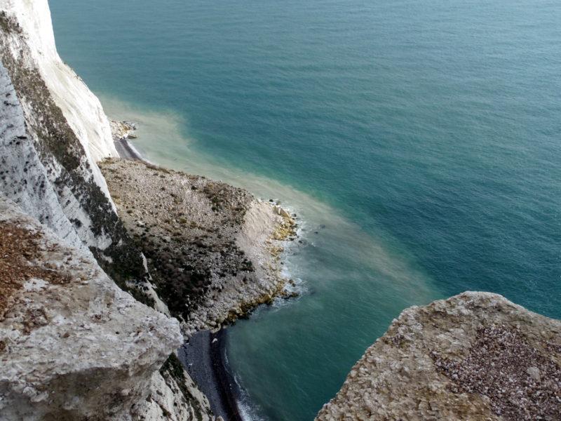 Douvres, ses falaises blanches et son château