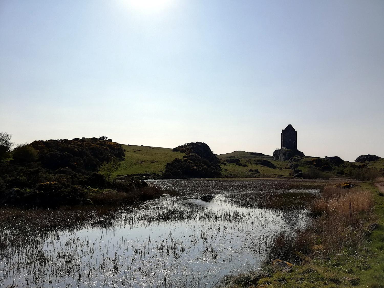 La Smailholm Tower, dans les Borders