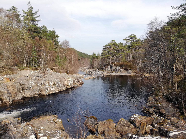 Dog Falls, Glen Affric, Highlands d'Ecosse
