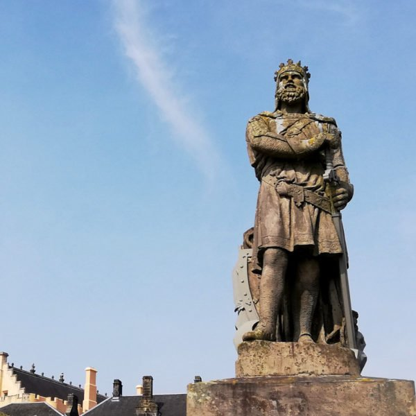 Passion statues à Stirling