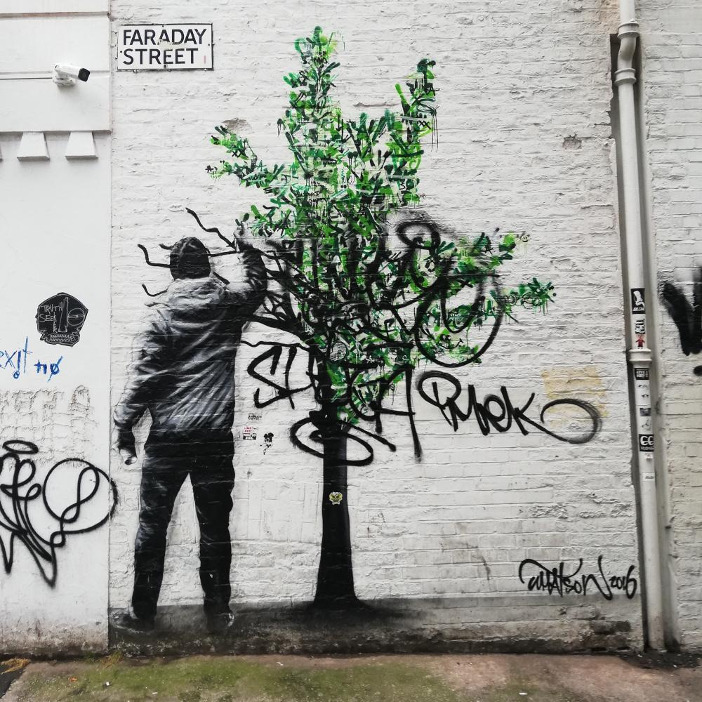 Le Street Art dans le Northern Quarter