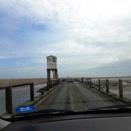 De passage à Lindisfarne ou Holy Island