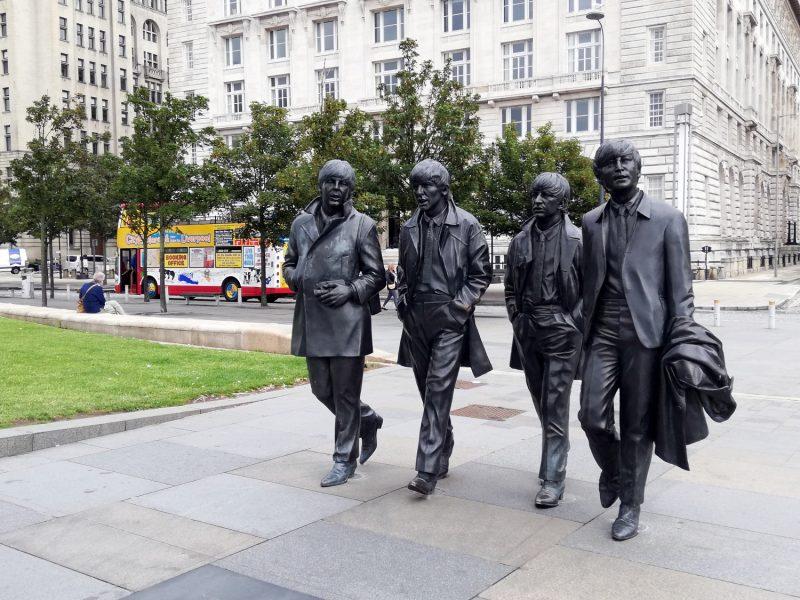 Les Beatles à Liverpool