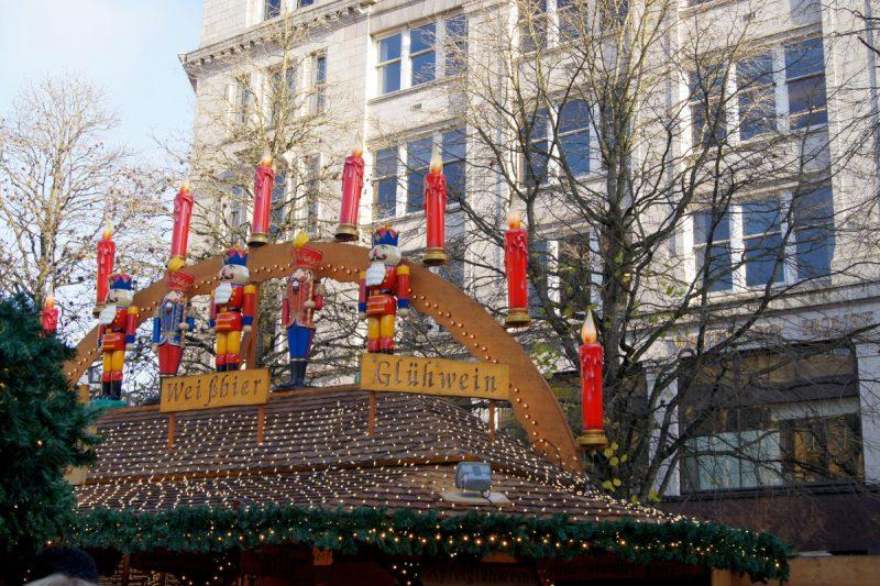 Chroniques anglaises #81 : Scènes de vie - Birmingham Christmas Market