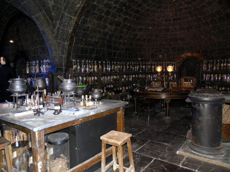 La salle de potions
