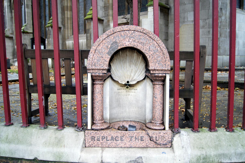 Première fontaine gratuite de Londres