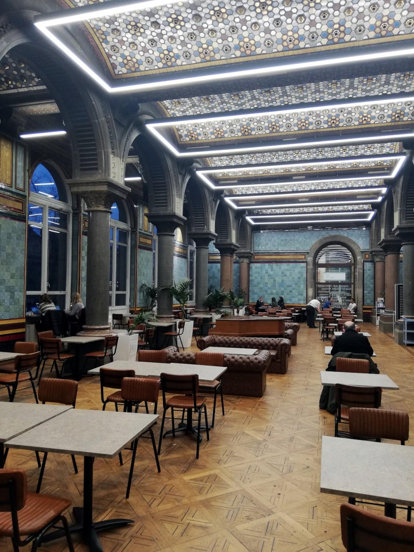 Tiled Hall Café