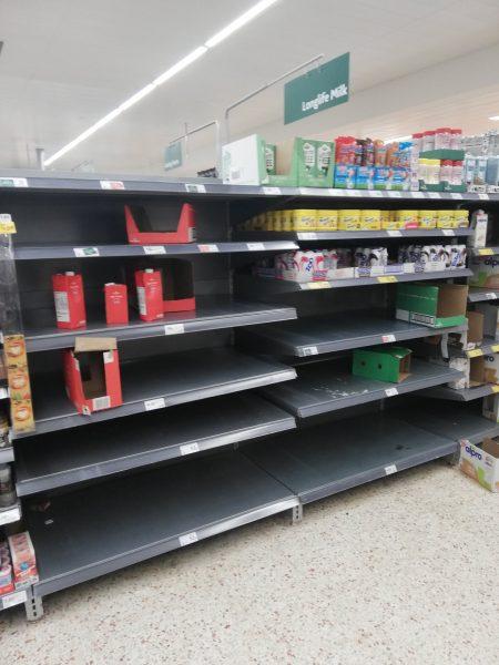 Panique au supermarché !