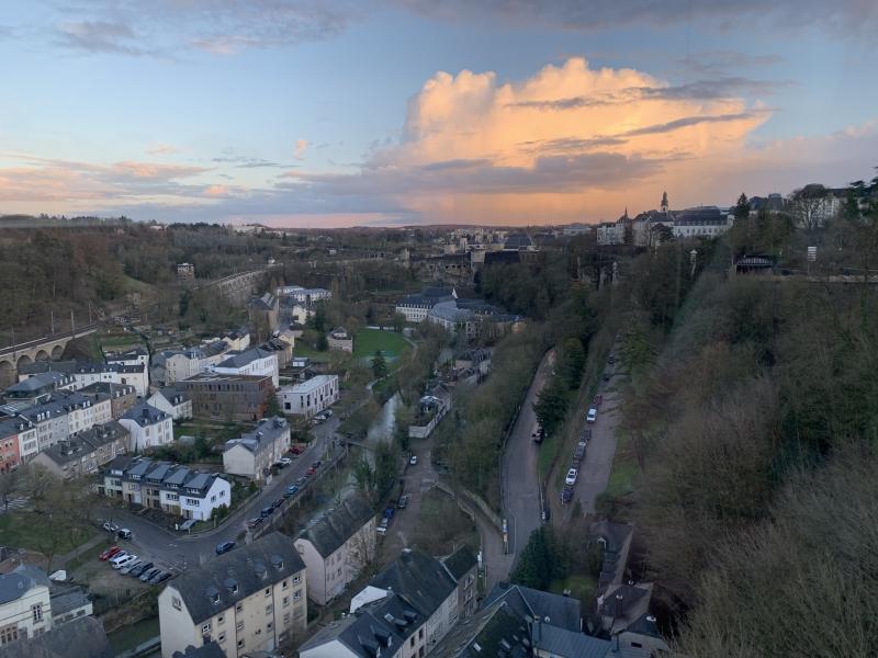 Emilie au Luxembourg