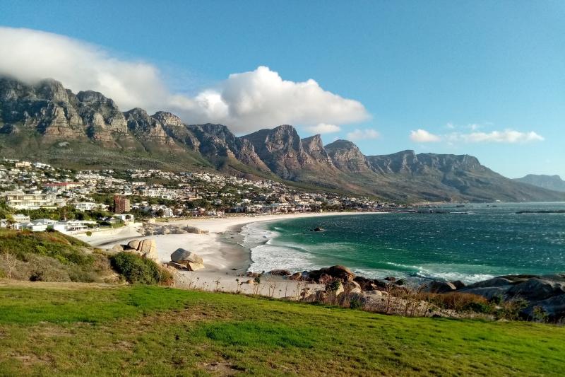 Fany à Cape Town en Afrique du Sud