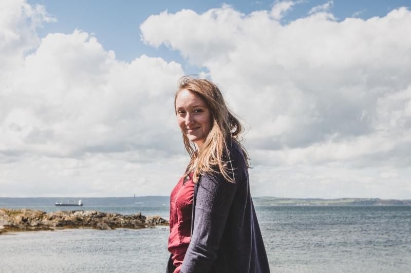 Violaine à Sligo, en République d'Irlande