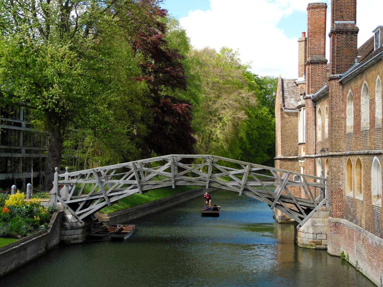 The Mathematical Bridge, Cambridge