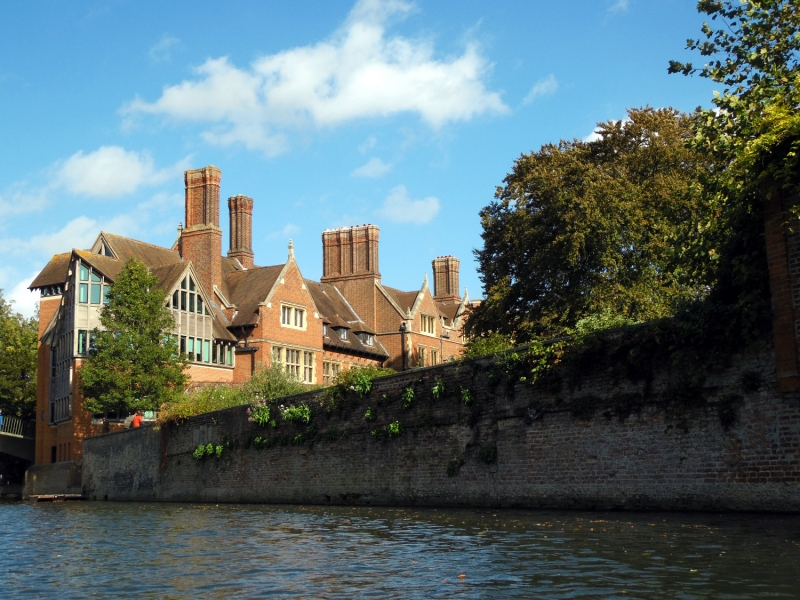 Faire du punting à Cambridge