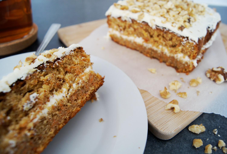 Le Carrot Cake, un gâteau indécent à souhaiter