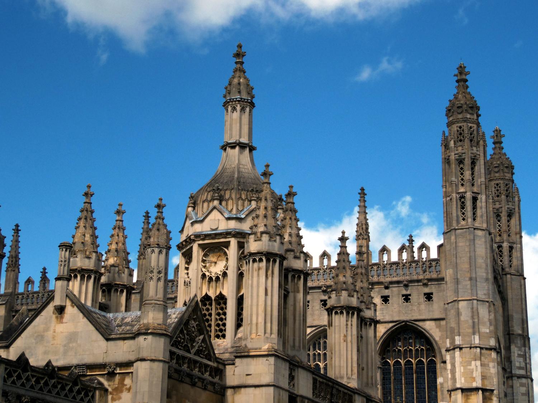 Sur les toits de Cambridge