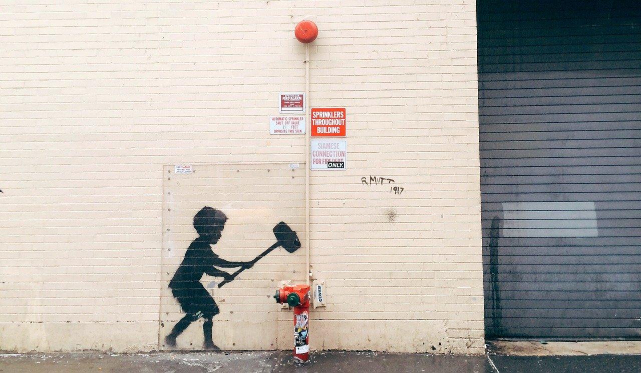 Trouvez les oeuvre de Banksy