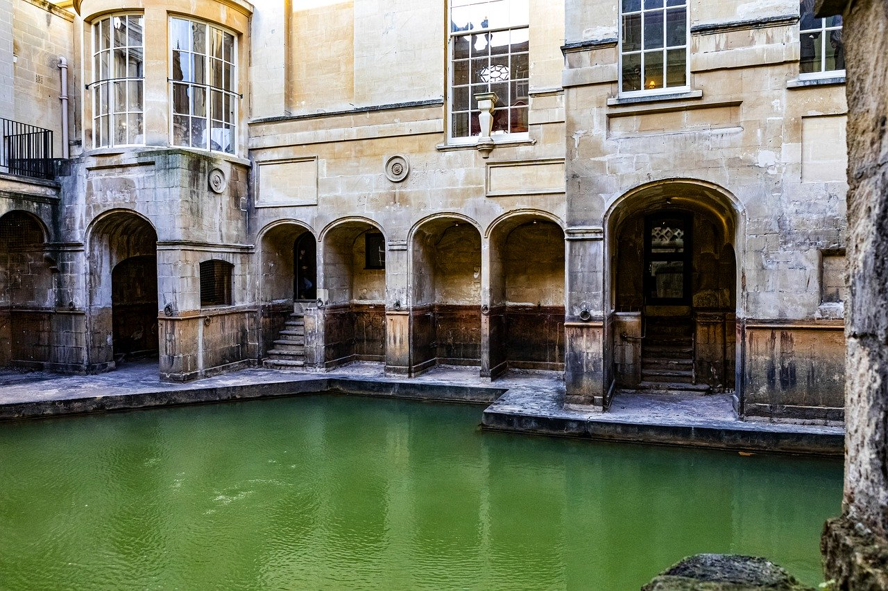 Retournez à l'époque des Romains à Bath