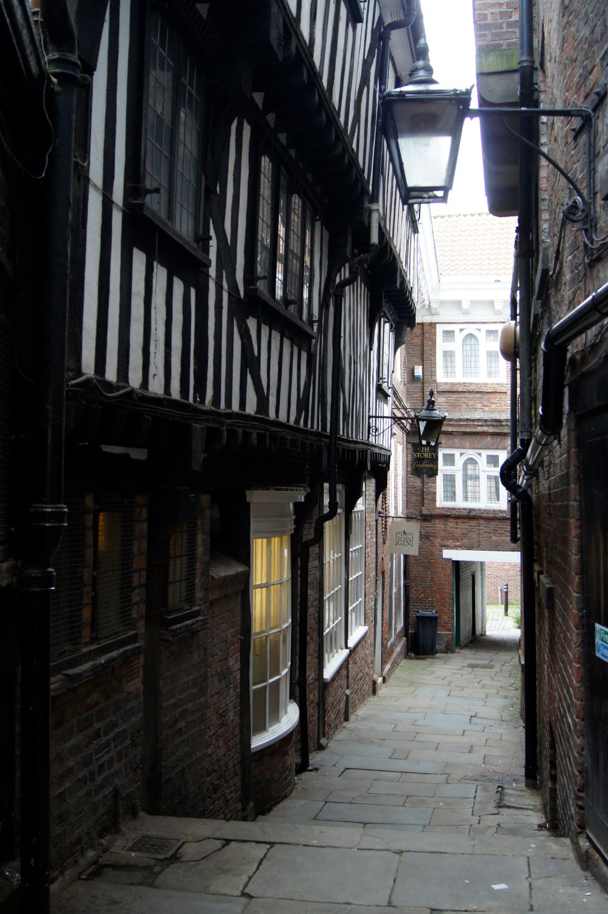 Les snickelways de York