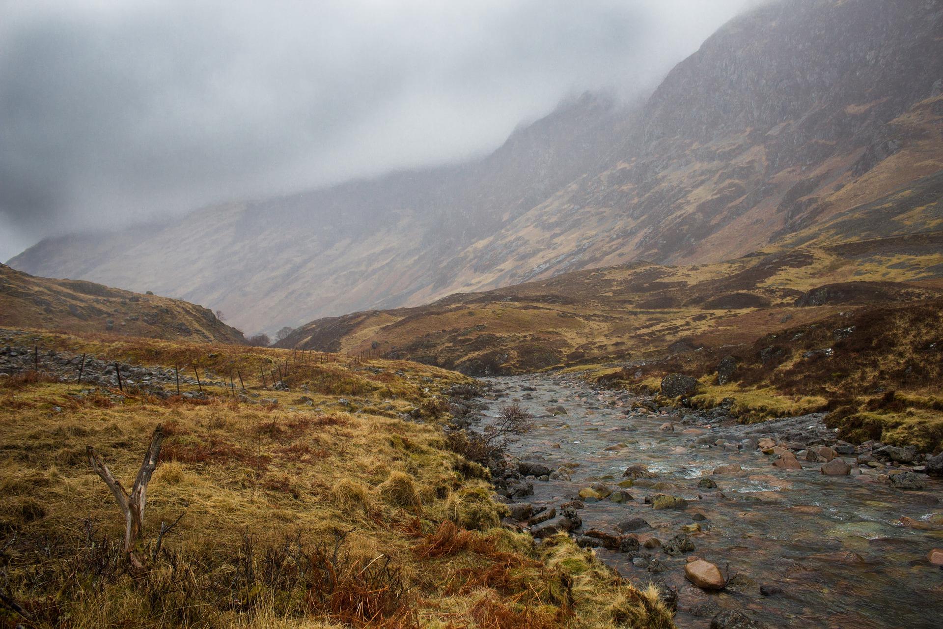 Les paysages écossais, une invitation à la poésie