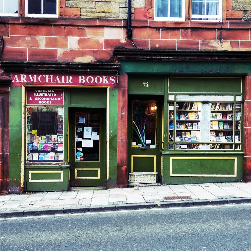 Librairies d'Edimbourg