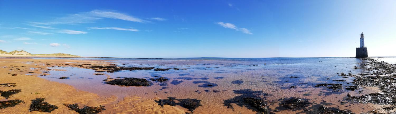 L'histoire d'un week-end pluvieux : la plage de Rattray Bay