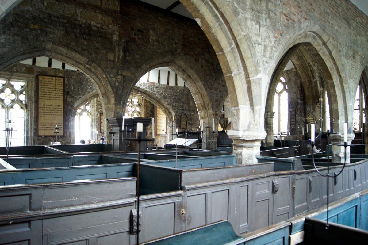 Les Box Pews de la Holy Trinity Church, York