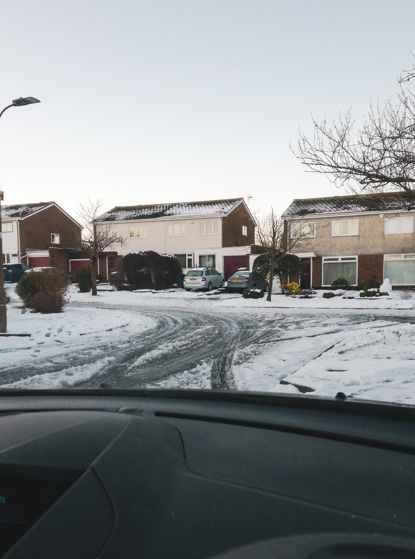 La conduite en hiver à Edimbourg