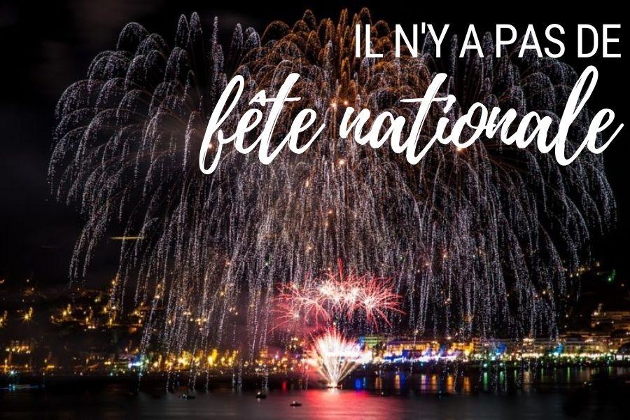 Il n'y a pas de fête nationale au Royaume-Uni