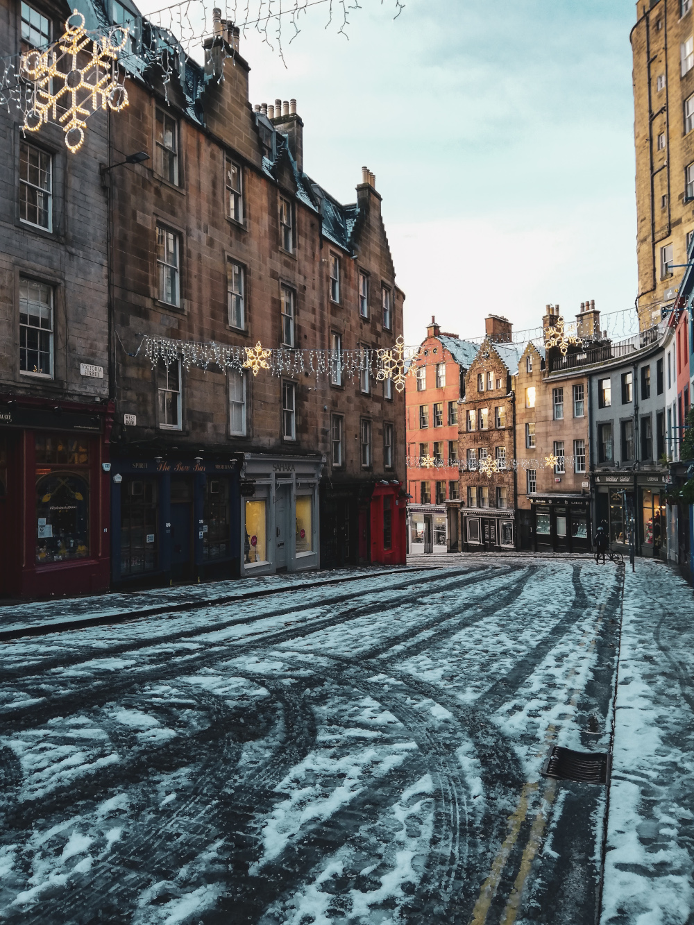 Victoria Street enneigée