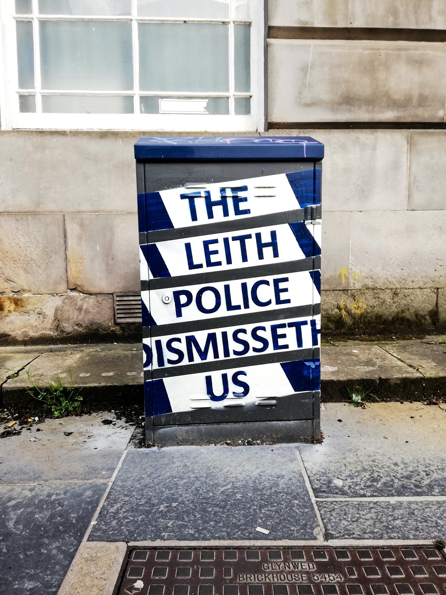 Street art à Leith, Edimbourg
