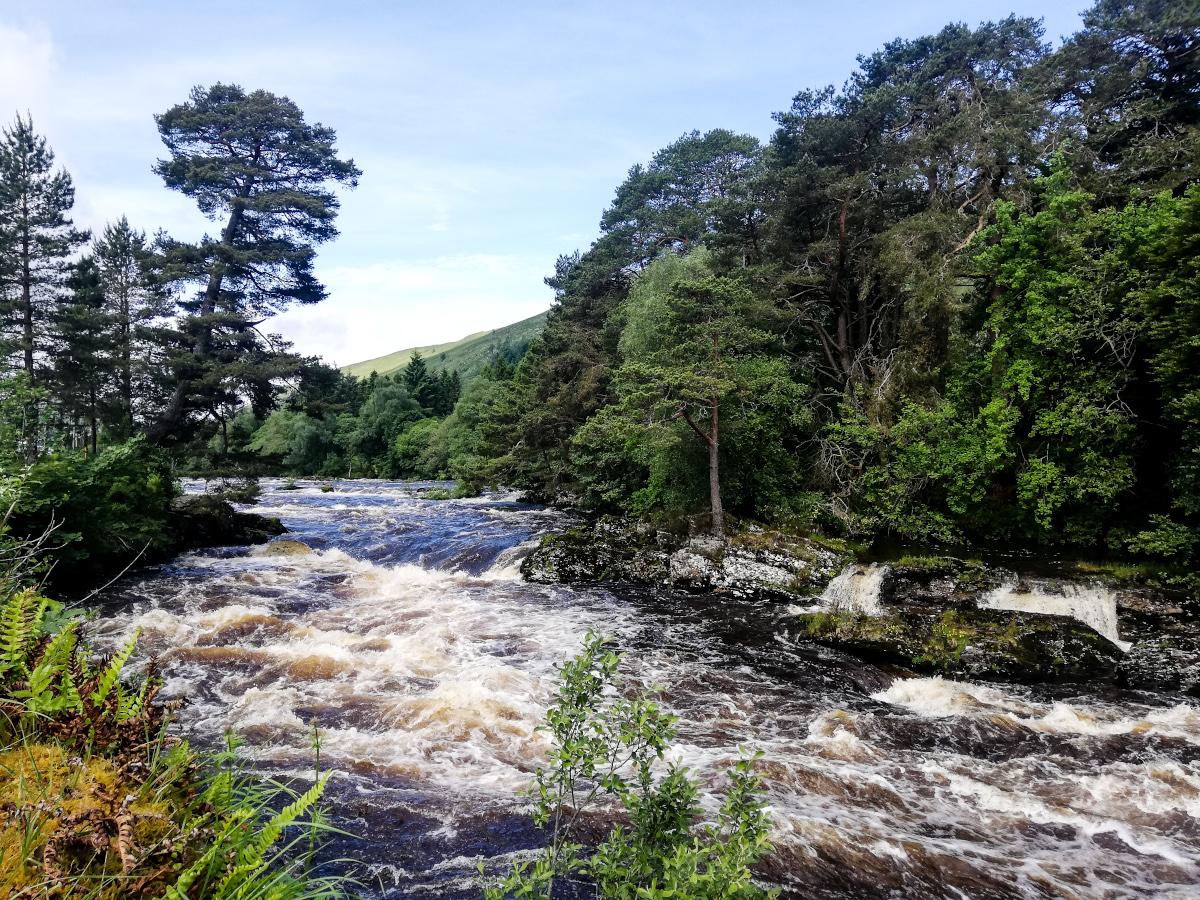 Les Falls of Dochart, aux portes de Killin