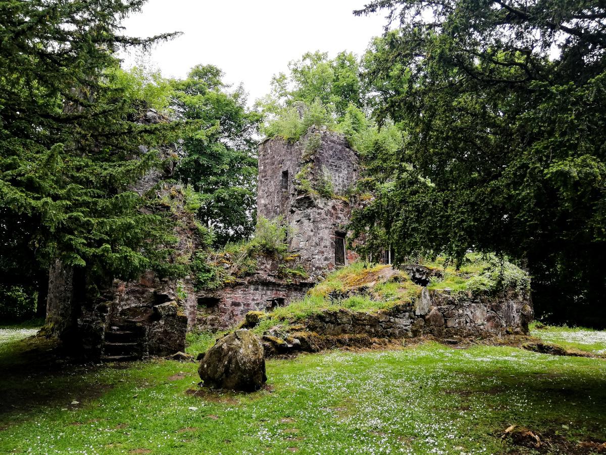 Les ruines de Finlarig Castle, à Killin