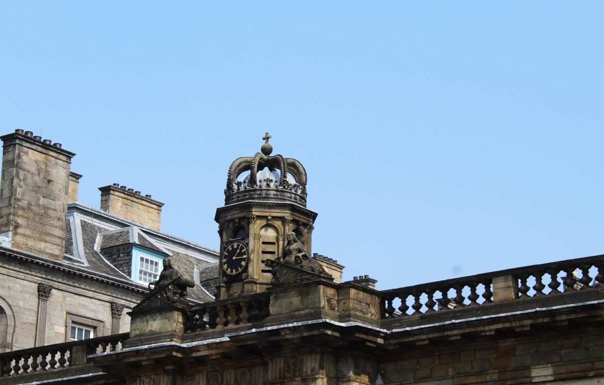 Holyrood Palace, Edimbourg